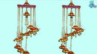 Purane Diye Se Jhumar Kaise Banaye || How To Make Creative Jhumar For Old Deepak || Arts Son Megicul