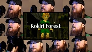 Repeat youtube video Zelda Ocarina of Time - Kokiri Forest Acapella