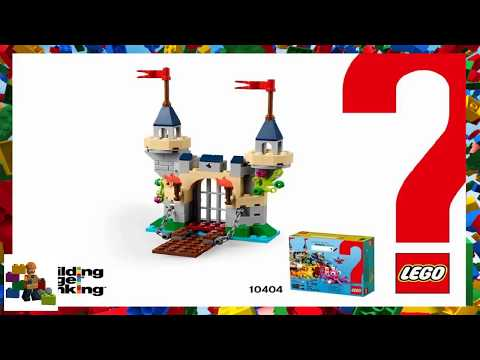 LEGO instructions - Classic - Building Bigger Thinking - 10404 - Ocean's Bottom - Castle