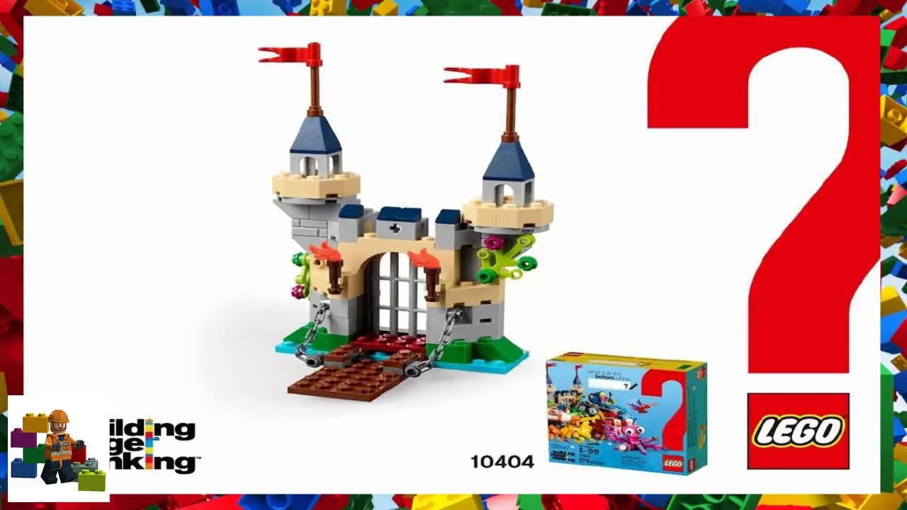 Lego Instructions Classic Building Bigger Thinking 10404