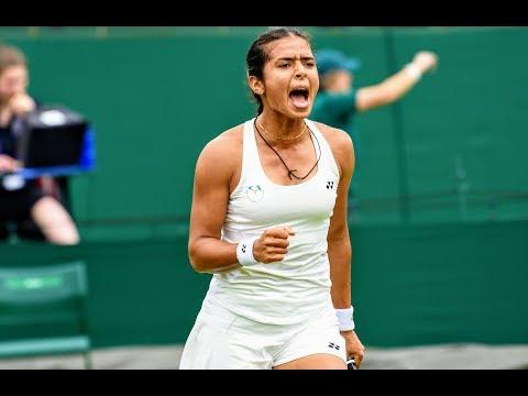 Wimbledon 2019 Qualifying: Ankita Raina Vs Cagla Buyukakcay - Highlights