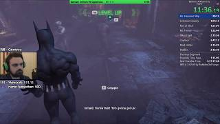 Batman: Arkham City 100% Speedrun WR 3:39:30 RTA (7/18/19)