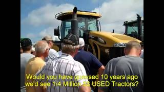 2010 Caterpillar MT865C Tractor with 557 Hours Sold for $245,000 on North Dakota Auction