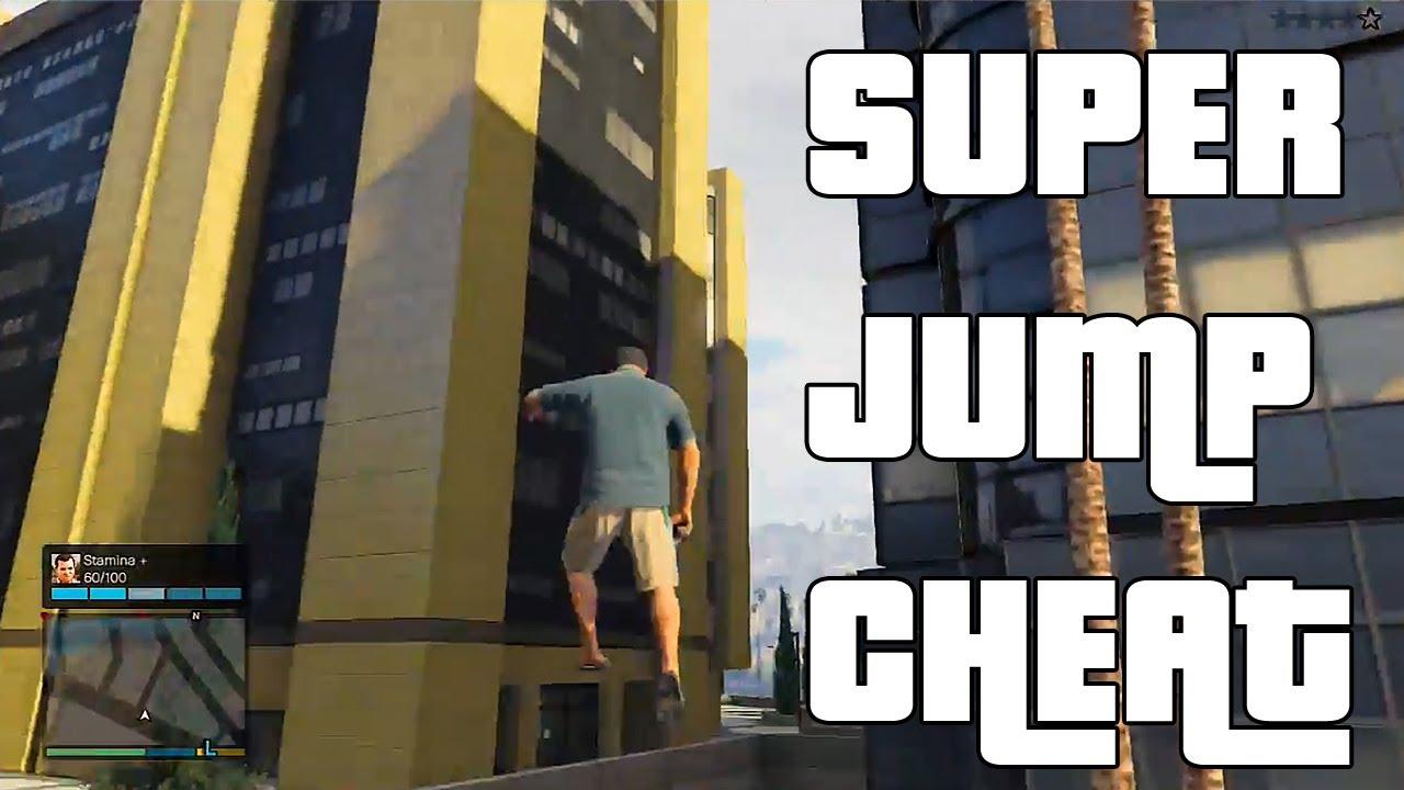 Gta 5 Super Jump Cheat Gta V Cheat Codes - Youtube-1003