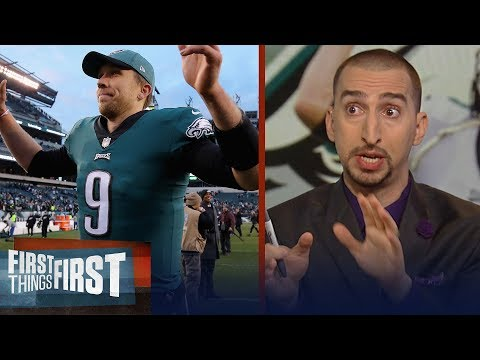 Nick Wright breaks down the Eagles' impressive second-half turnaround | NFL | FIRST THINGS FIRST