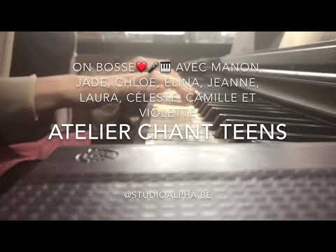 Atelier chant ados, «you know it's about you», Ballerina
