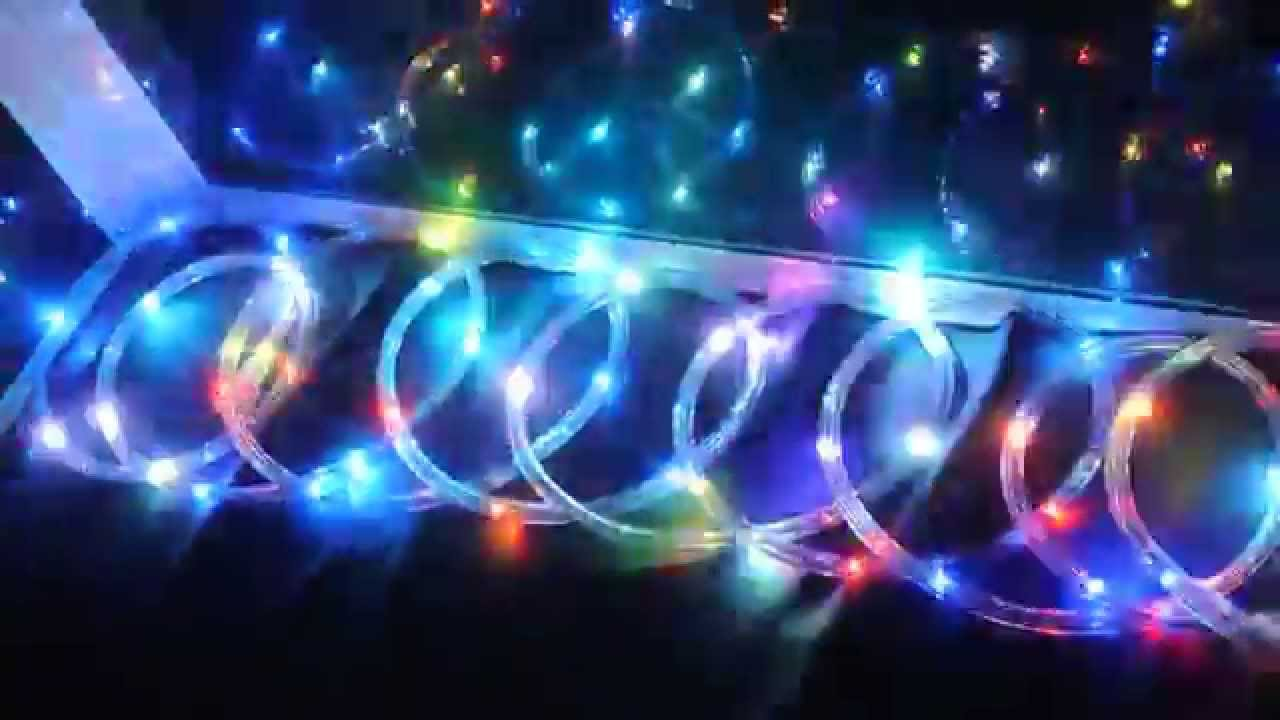 Led String Lights Stopped Working : Multi-color LED Rope light for your Patio, Window - YouTube