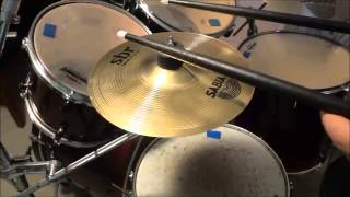 Sabian SBR 10 Inch Splash Cymbal Review And Sound Demonstration