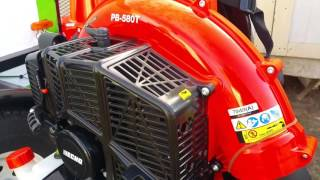 Safety tips for PB580T ECHO BLOWER