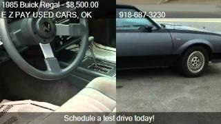 1985 Buick Regal T-Type - for sale in Muskogee, OK 74401