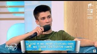 Totul despre câştigătorul iUmor! Cine este Andrei Cojocaru