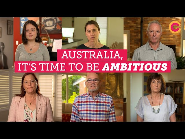 Australia, it's time to be ambitious \\ Climate Council