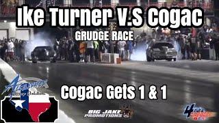 GRUDGE RACE | IKE TURNER CAMARO V.S COGAC G-BODY CUTLASS ! COGAC GETS 1&1 ! WAS IT A GAP ???