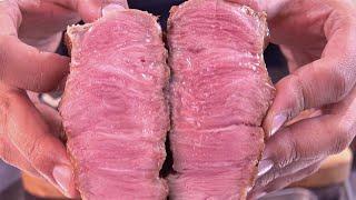 육즙이 폭발하는 돼지 목살 굽는법