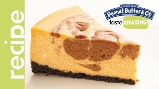 Pumpkin Cheesecake With A Chocolate Peanut Butter Swirl Recipe