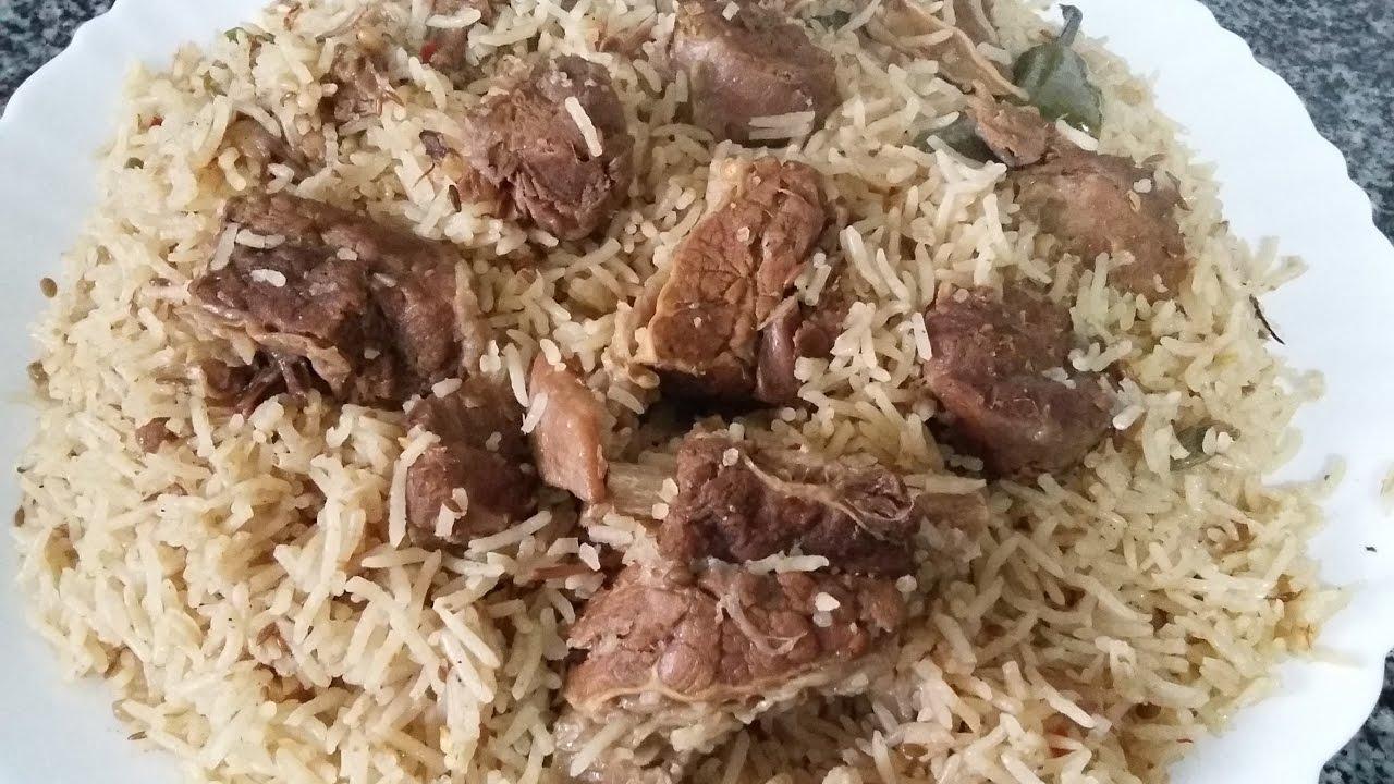 BEEF YAKHNI PULAO - Zahida Cooking - YouTube