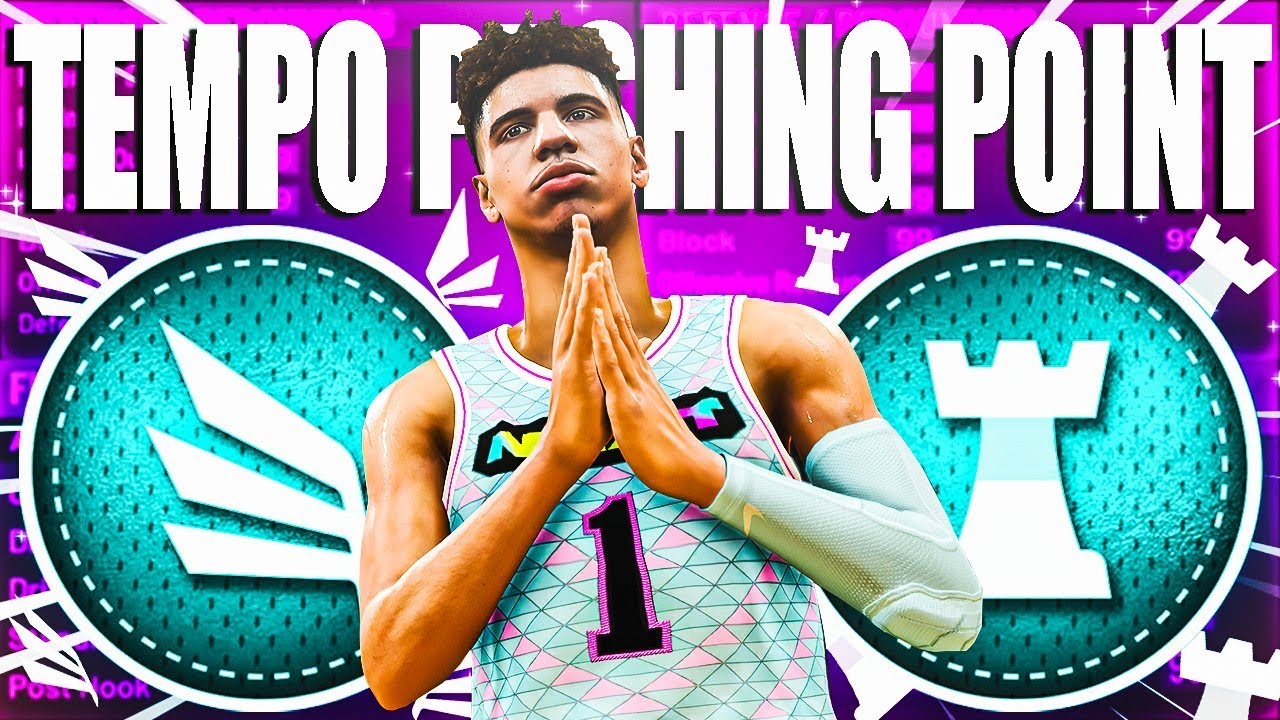 HOW TO MAKE A TEMPO PUSHING POINT ON NBA 2K20! RARE BUILD SERIES VOL. 135