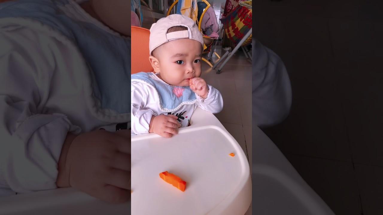 Ăn dặm BLW bé chỉ huy - Chaebol 7 tháng tập ăn BLW #Chaebol #andam #BLW  #baby7months - YouTube