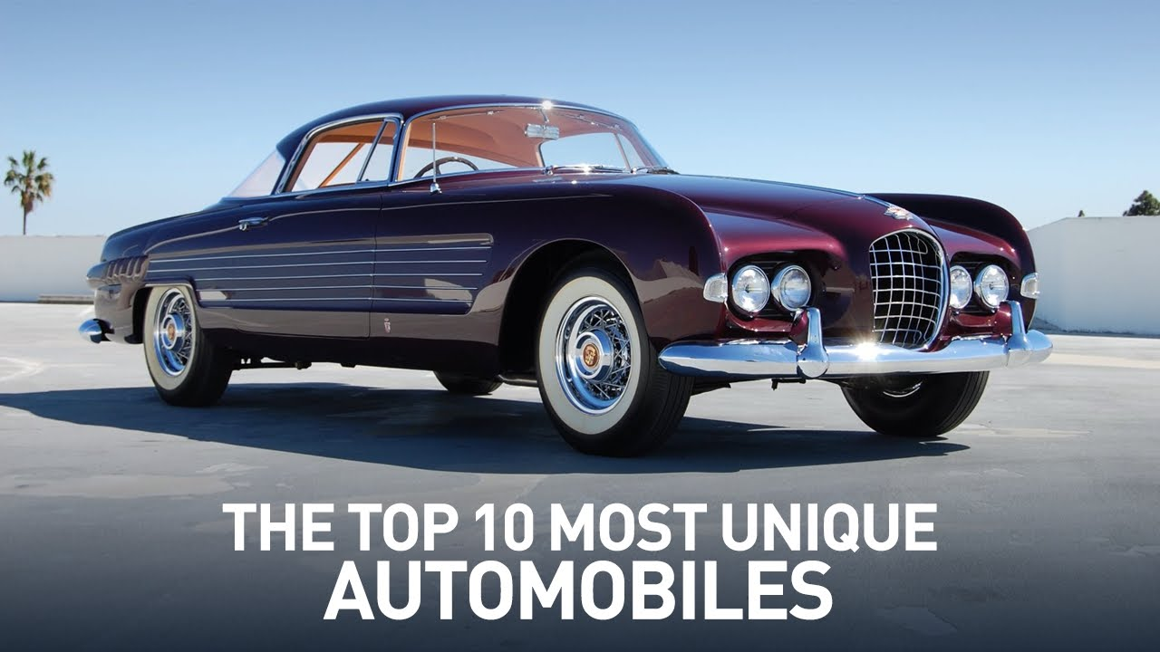 Top 10 Most Unique Cars and Automobiles Ever - YouTube