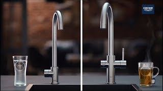 TV commercial GROHE Watersystemen: GROHE Red & Blue Home