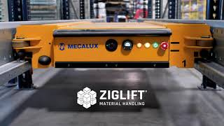 Ziglift Material Handling Now Featuring Mecalux Pallet Shuttle System Demo