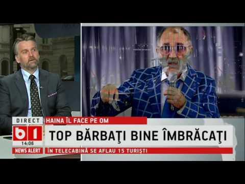 STIRI B1 TV  TOP BARBATI BINE IMBRACATI- C.IONASCU: BARTOS, IMBRACAT GRESIT