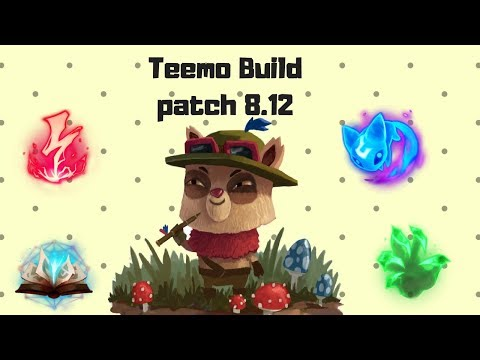 iPav's Teemo Guide 8.12 [Build for each Tier]