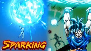 SP Goku (Spirit Bomb) Showcase - Dragon Ball Legends