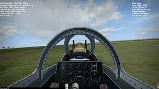 WarBirds - F-86 Sabre Flying Through Hangers