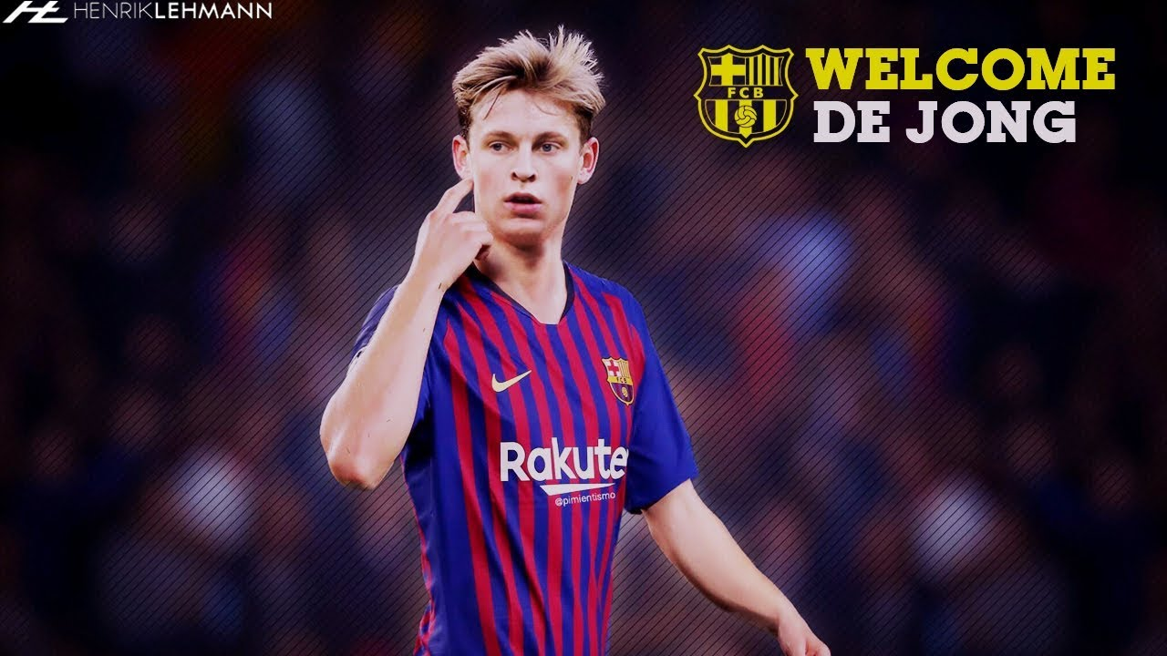 Frenkie De Jong Welcome To Fc Barcelona 2019 Youtube