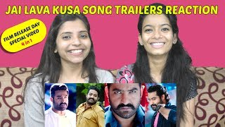 Jai Lava Kusa | Nee Kallalona Song Trailer Reaction In Marathi +3 | NTR