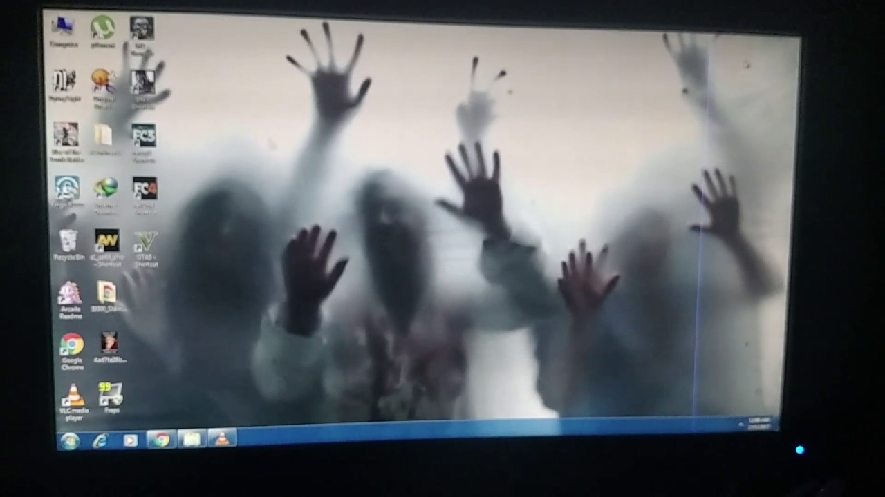 How to Set Zombie Live Wallpaper! - YouTube