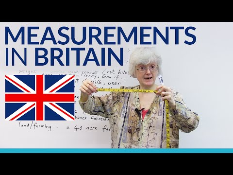 British measurements: pints, feet, Celsius, and more!