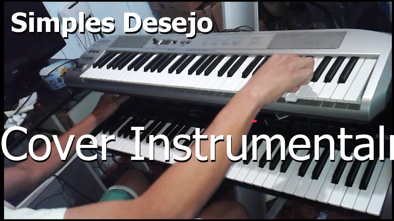 Simples Desejo - Cover Instrumental Split Screen - Flavinho Santos