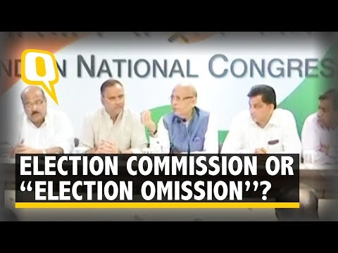 """BJP Converted Election Commission to """"Election Omission"""": Congress 