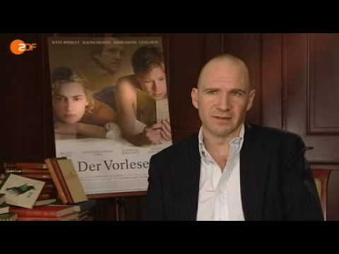 "Ralph Fiennes -  Interview ""The Reader"" - 1"