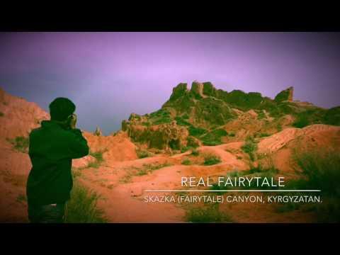 Skazka (Fairytale) Canyon, Kyrgyzstan. Travel with H