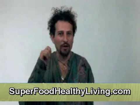Superfood Raw Foodist David Wolfe