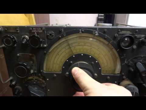 R1155b RAF World War 2 Lancaster Bomber Radio