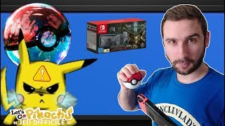 POKEMON LET'S GO SERA DIFFICILE & NOUVELLE NINTENDO SWITCH DIABLO 3 !