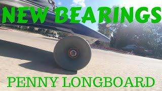 Penny Longboard Bearing Change