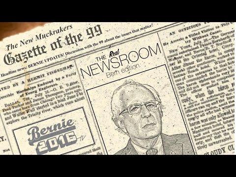 The Real News Room - Bernie @ Franklin Pierce U - 2.6.2016