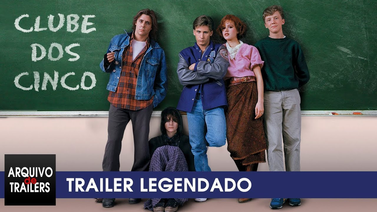 Clube dos Cinco (The Breakfast Club 1985) - Trailer Legendado