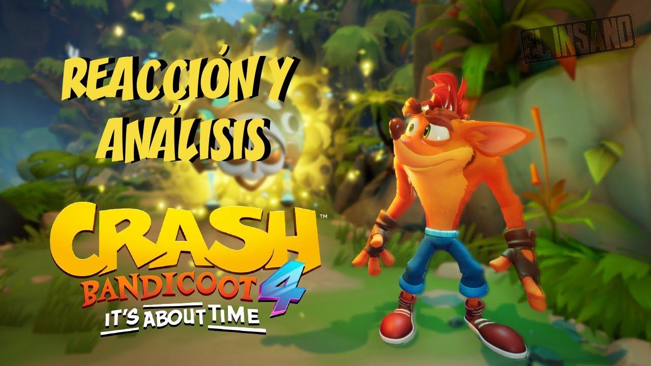TODO lo que NO nos MOSTRARON de Crash Bandicoot 4 It's About Time 🍊