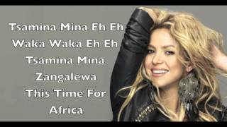 Download Lagu Shakira-Waka Waka This time for Africa MP3
