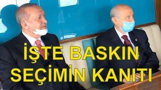İŞTE BASKIN SEÇİMİN KANITI..
