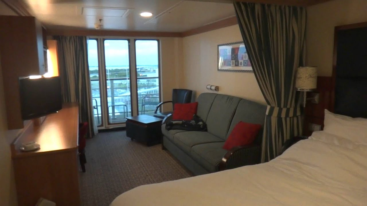 Wonderful Disney Dream   Family Oceanview Stateroom With Verandah   YouTube