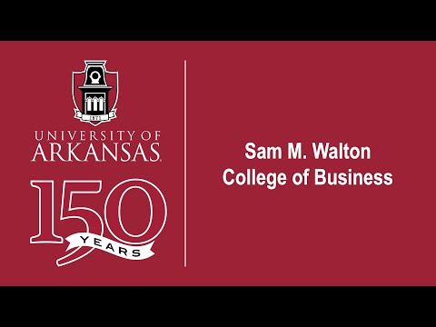 Sam M. Walton College Of Business Commencement (2)