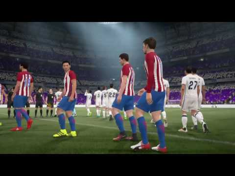 FIFA 17 ps4 real madrid vs atletico madrid derby