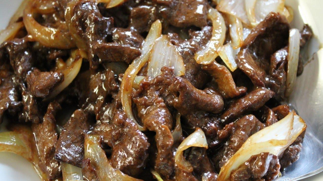 Stir fry beef with onions easy recipe morgane - Recette de cuisine pour l hiver ...